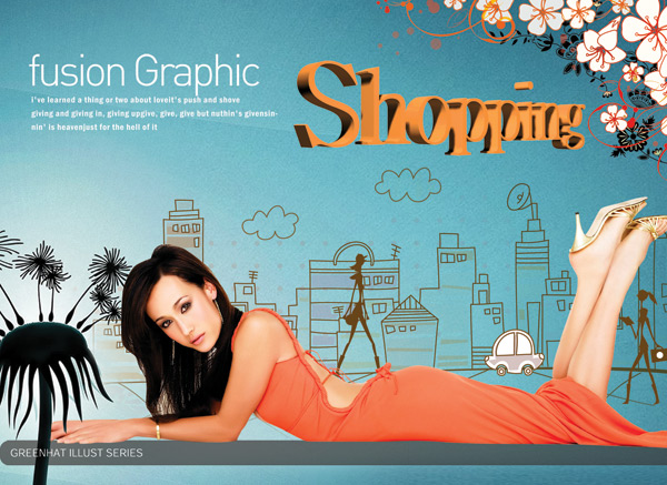 Trend fashion posters 2 PSD