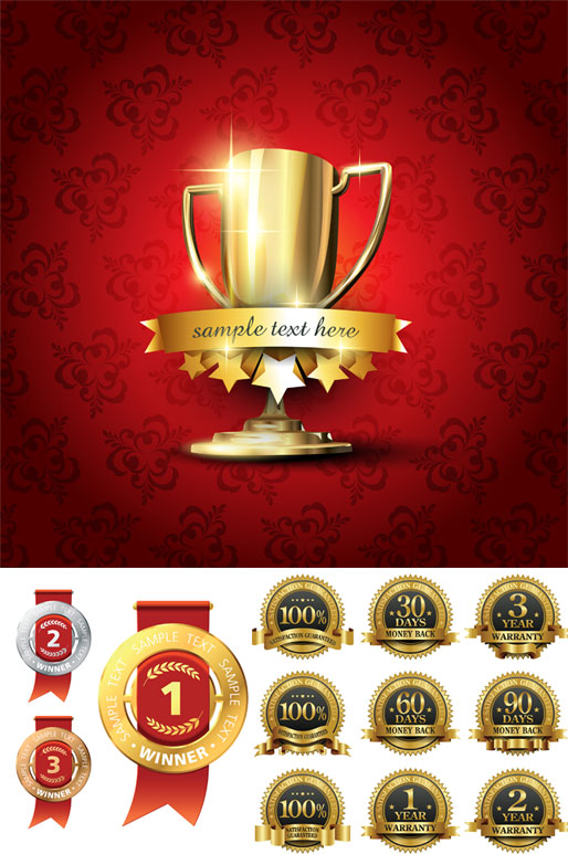 Trophy awards icons – Over millions vectors, stock photos, hd