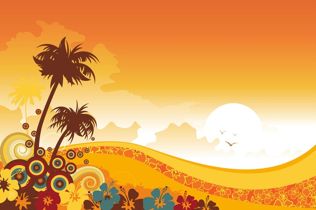 Tropical Powerpoint Template  BesikEightyCo