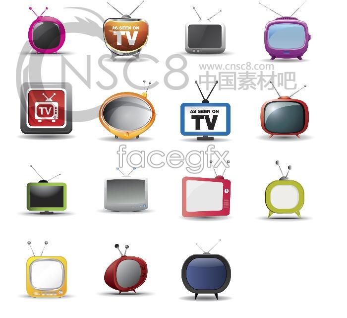 TV desktop icons