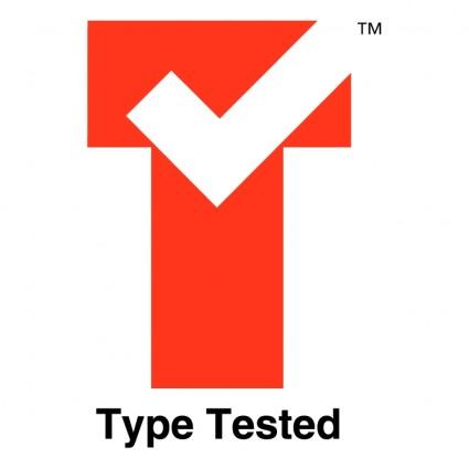 type tested logo