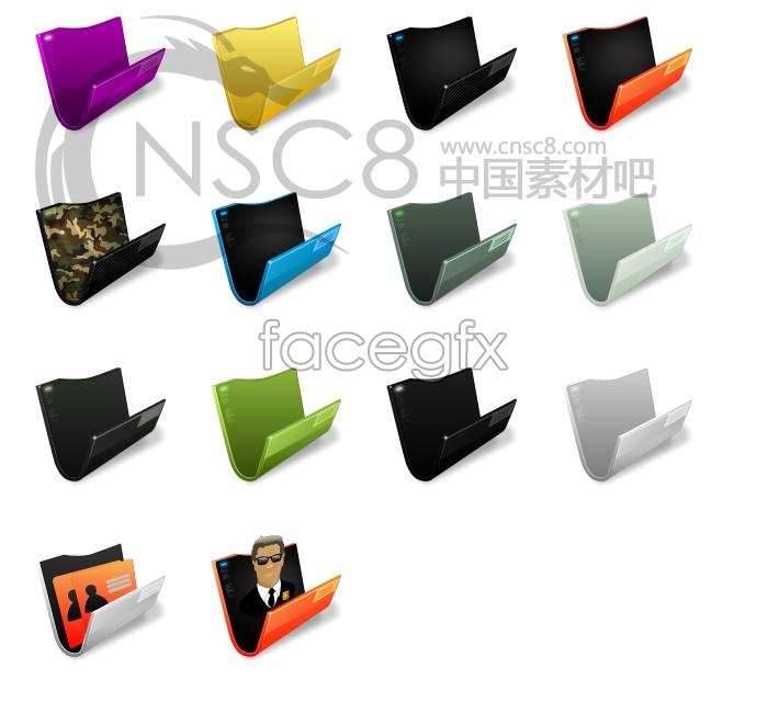 U-folder icons