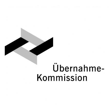 ubernahme kommission logo