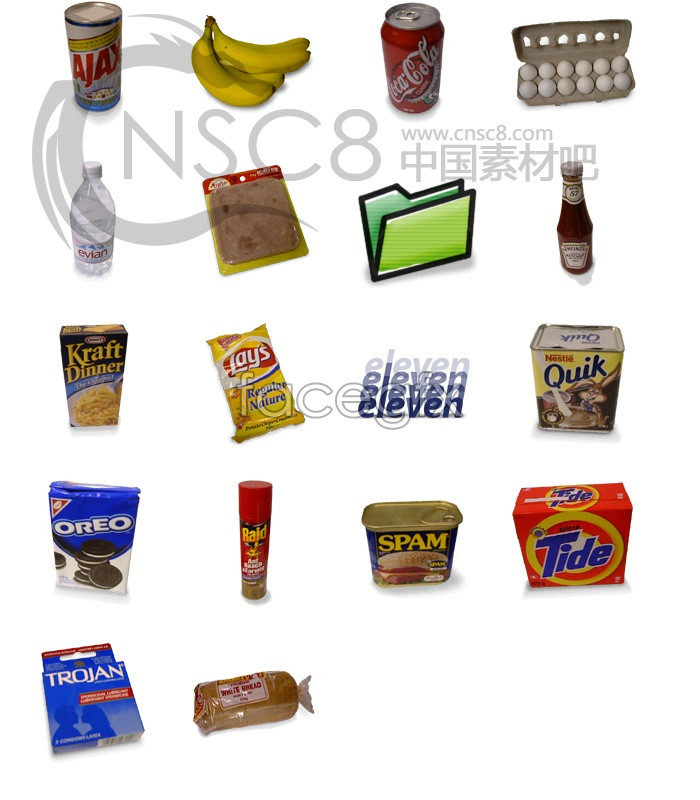 Under the seductive salivary! Instant food icons