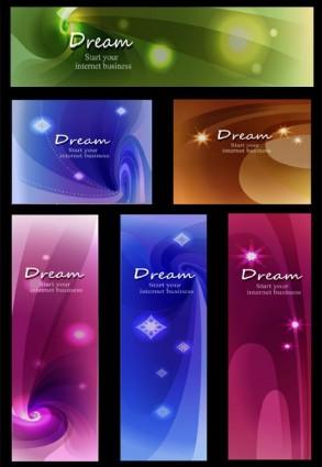vector background dream star