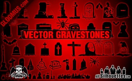 Vector Gravestones