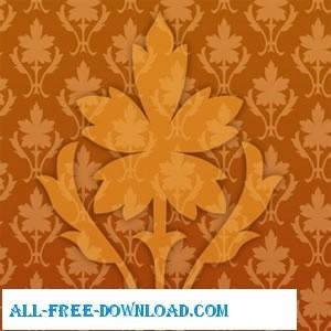 Vector Ornate Wallpaper Pattern