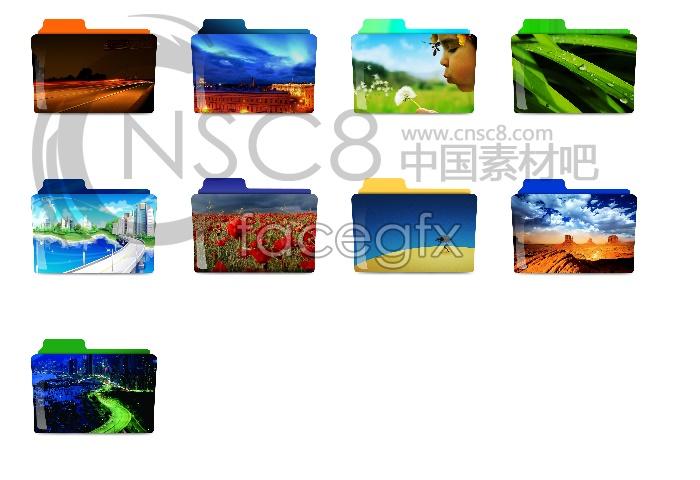 View folder icons