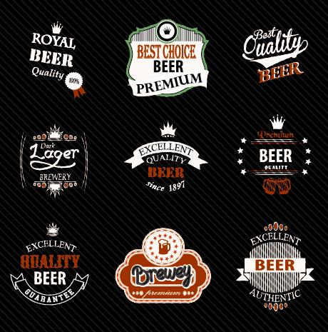 Vintage royal beer labels with badges vector 01 free over millions vintage royal beer labels with badges vector 01 free toneelgroepblik Choice Image