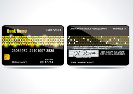 vip card background vector 3