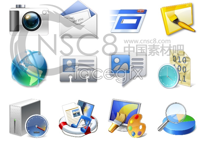 VISAT computer desktop icons