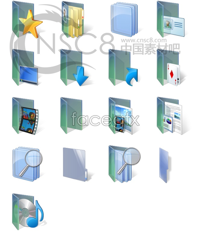 Vista folder series