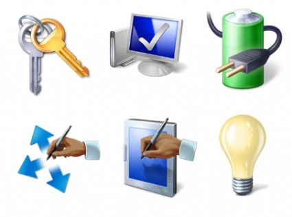Vista Icons Pack PNG 03 icons pack