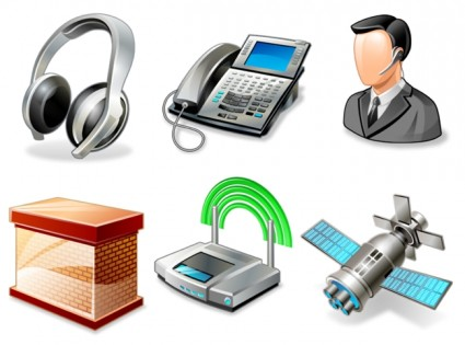 Vista networking icons icons pack