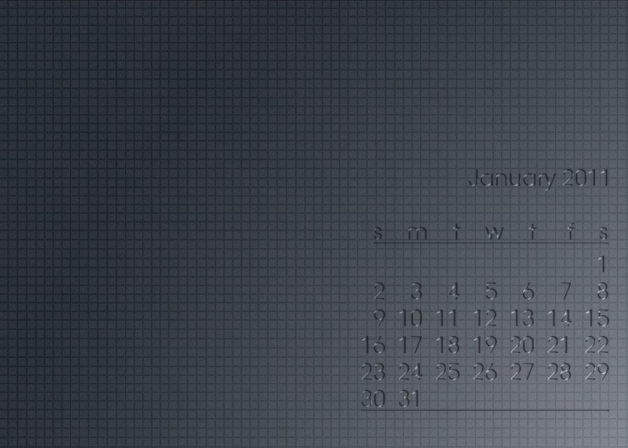 Wall Calendar – January 2011
