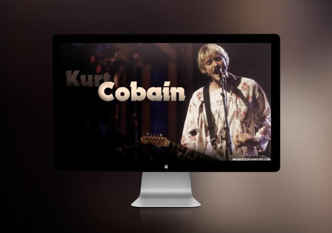 Wallpaper – Kurt Cobain