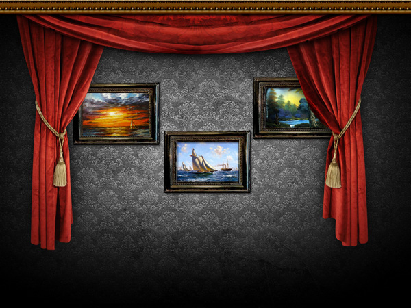 Walls Arts frame PSD