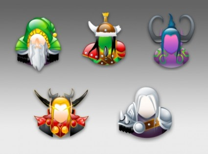 Warcraft Sigma Style Icons icons pack