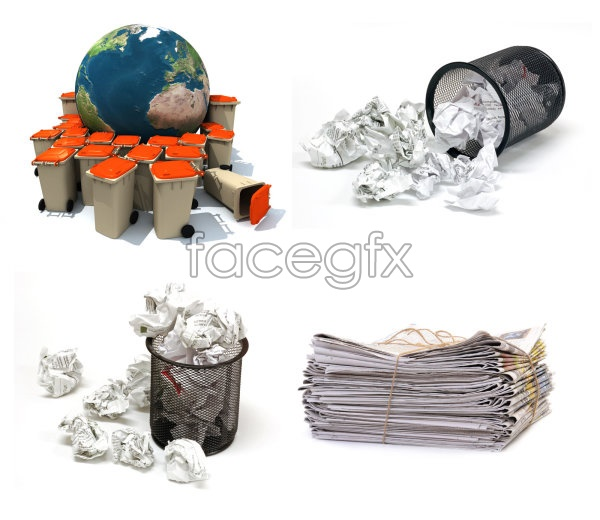Waste paper and trash psd over millions vectors stock photos waste paper and trash psd toneelgroepblik Image collections