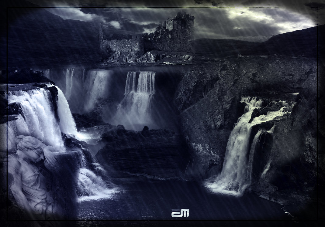 Waterfall Photo Manipulation