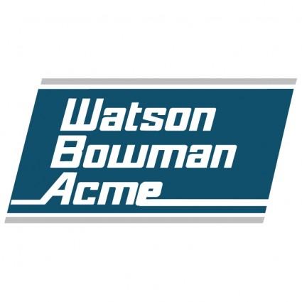 watson bowman acme logo