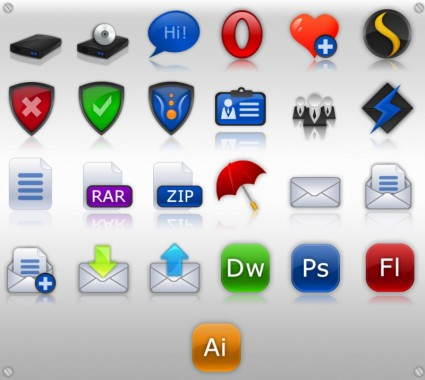Weaver Icon Set icons pack