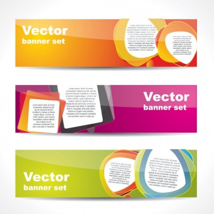 web banner boutique 02 vector