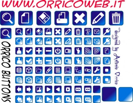 Web Buttons icon set