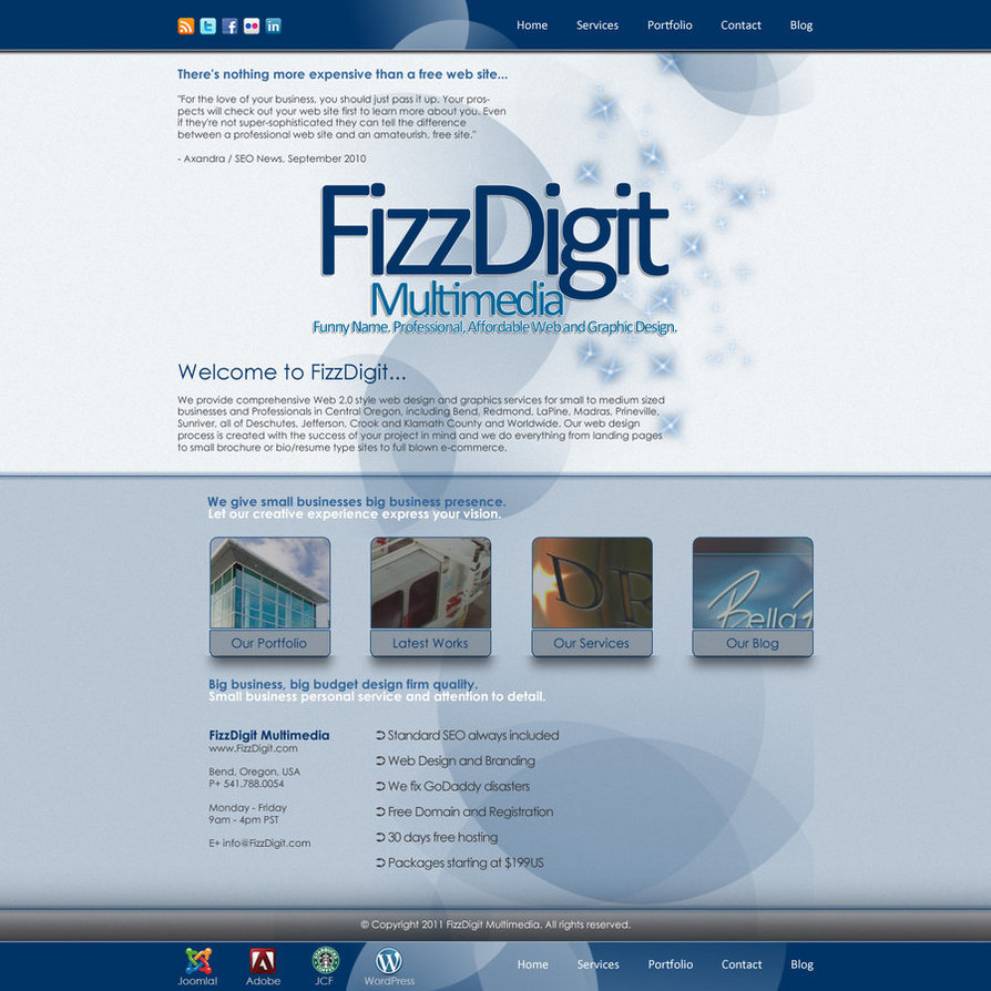 web design wordpress html