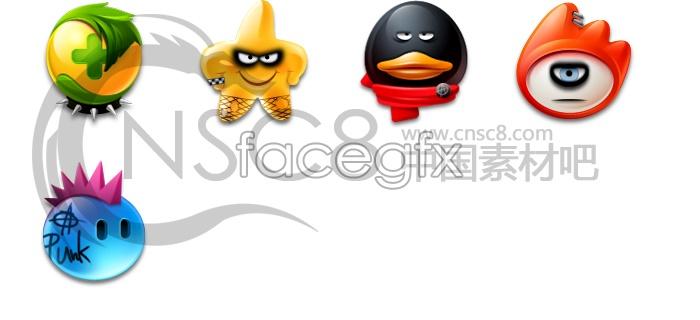 Website LOGO design icons