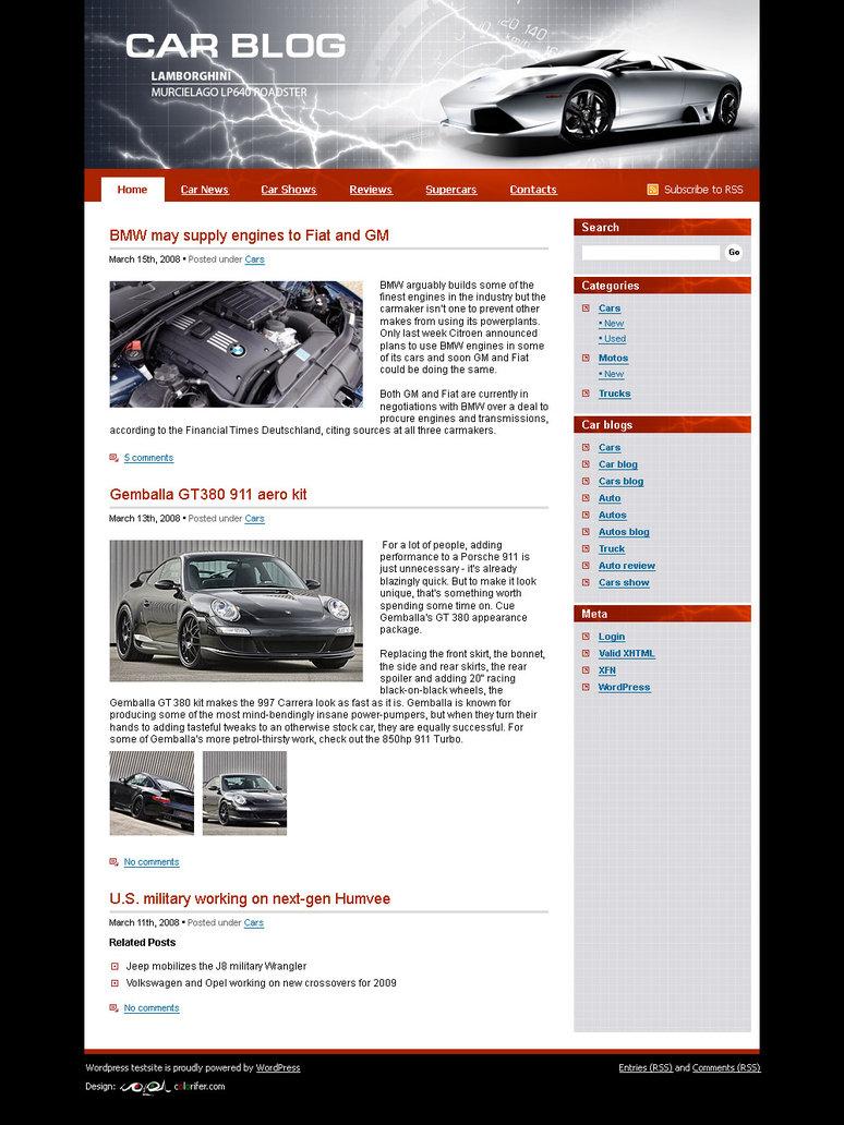 Website Template N 014