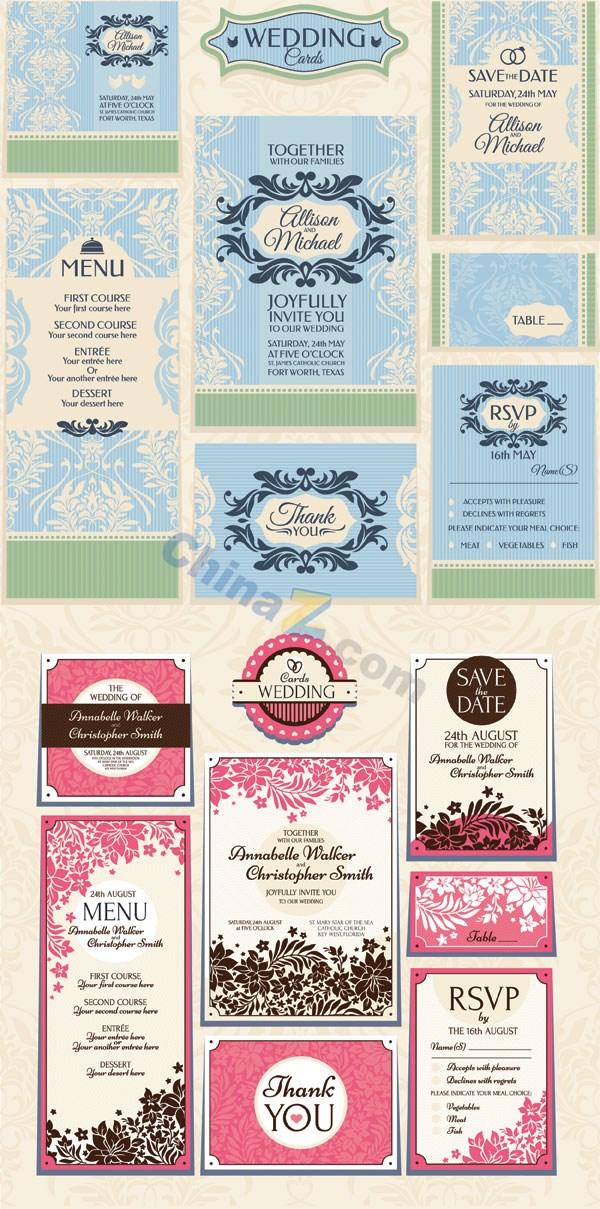 Wedding invitation card vector design template over millions wedding invitation card vector design template free download wedding invitation stopboris Gallery