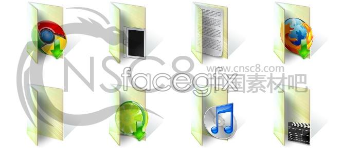 Win7 folder icons