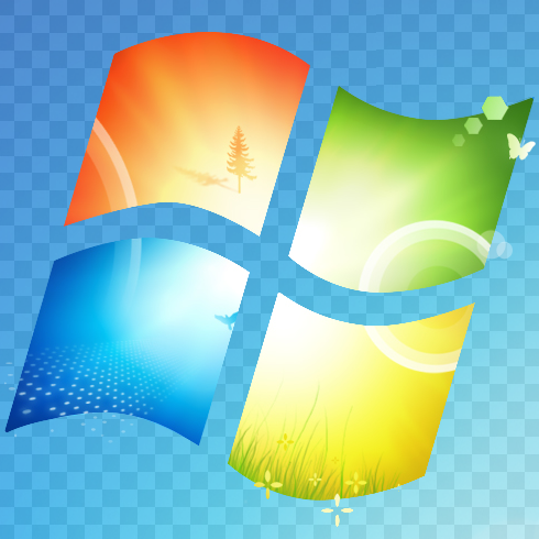 transparent icons for windows 7
