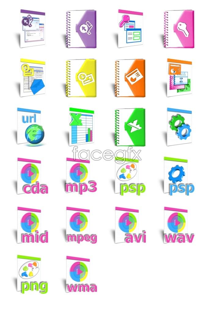 Win8 files desktop icons