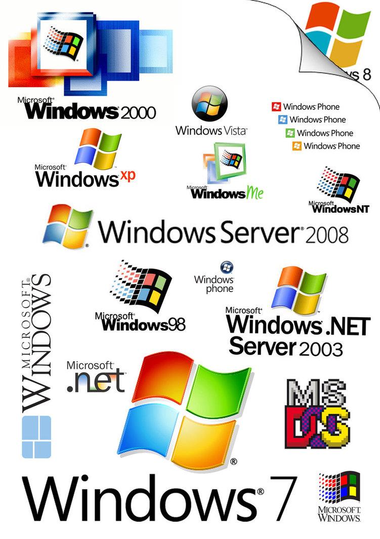 Windows OS Logo Compilation