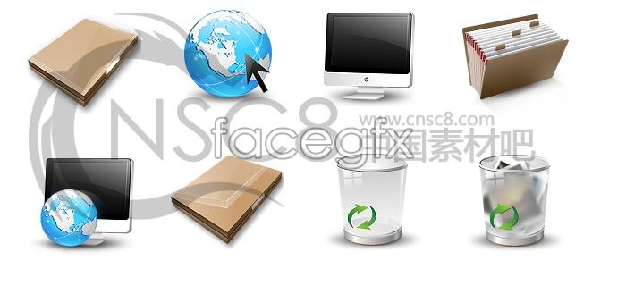 Windows8 desktop icons