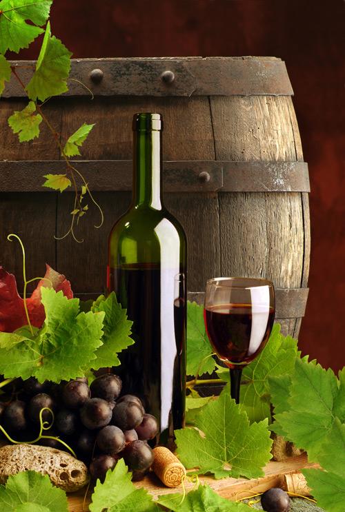 Wine and wine barrels psd – Over millions vectors, stock