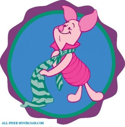 Winnie the Pooh Piglet 019