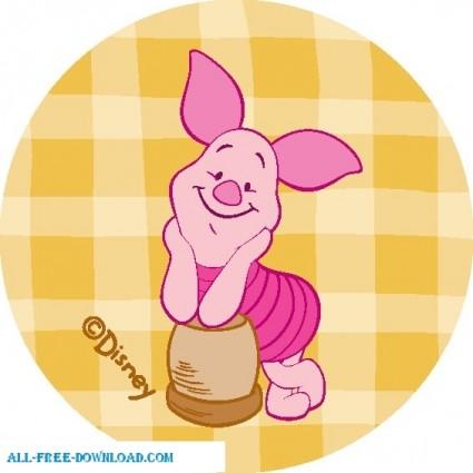 Winnie the Pooh Piglet 022