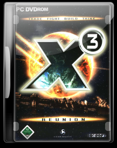 X3 Reunion DVD Case