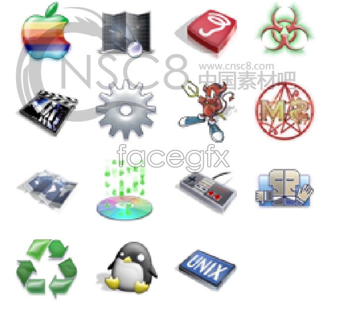 XP desktop icons
