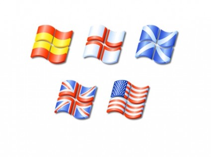 XP Flags Icons icons pack