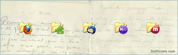 XP Folders Mozilla Icons