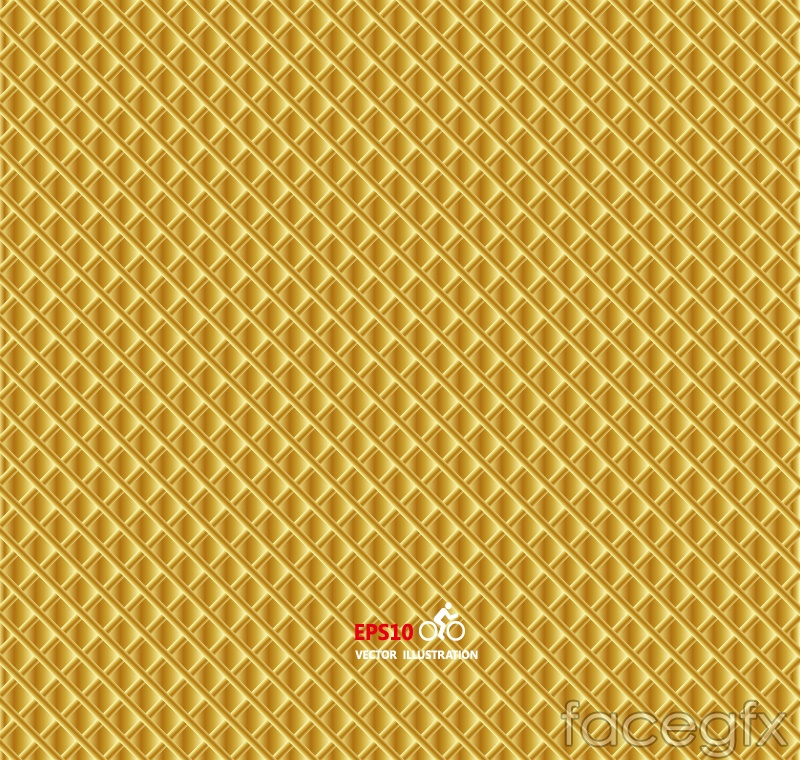 Yellow box texture background vector