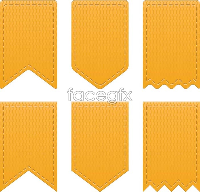 templates vector design tags yellow over millions vectors stock