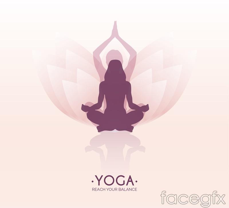 Yoga lotus background woman logo vector over millions vectors yoga lotus background woman logo vector toneelgroepblik Image collections