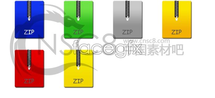 ZIP Zip computer icons