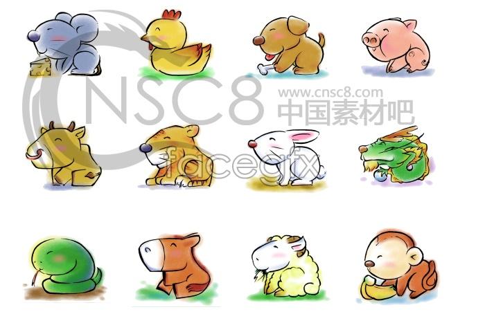 Zodiac desktop icons