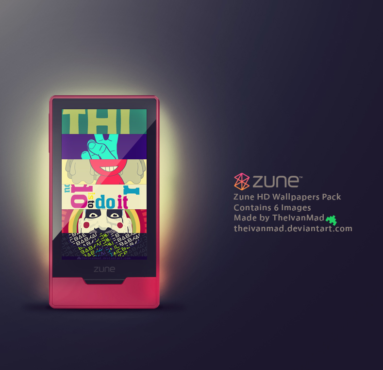 Zune HD Wallpapers 1st Pack
